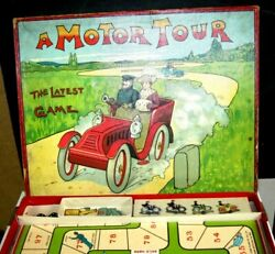 Vintage- Spears Series-j.w.s.ands Bavaria A Motor Tour Game- 1907-rare