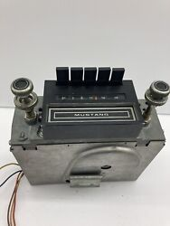 Vintage Ford Mustang Car 8 Track Radio With Knobs Used Untested