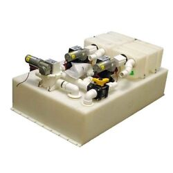 Sealand Dometic Boat Waste Tank System 322504002 | 40 Gal 24vdc