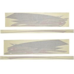 Chaparral Boat Hull Graphic 14.00405 | 236 Ssx Carbon Set Of 4