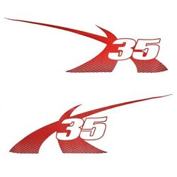 Mastercraft Boat Model Graphic Decal 7501562 | X35 Viper Red 2013