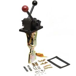 Uflex Boat Throttle Control B102   Two Lever Top Mount Black Red