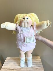Vintage 1985 Nwt And Paperwork Xavier Robert Cabbage Patch Doll Collectible Mint