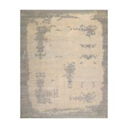 9'x12' Hand Knotted Designer Tibetan Wool Antique Reproduction Modern Area Rug