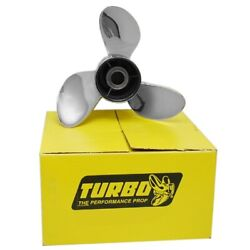 Precision Turbo Lightning Boat Propeller Sql147528r | Rh 14 3/4 X 28 P