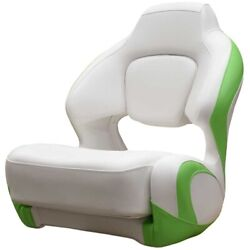 Chaparral Boat Captains Helm Seat 31.00591   H2o White Lime Green
