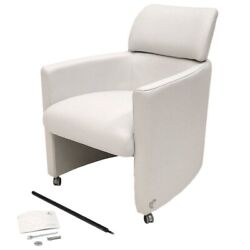 Carver Boat Sofa Lounge Chair 8725023   White Incomplete / Discolor