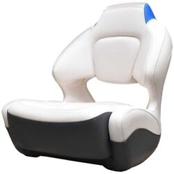 Chaparral Boat Helm Seat 31.00601   Vortex Bolster White Electric Blue