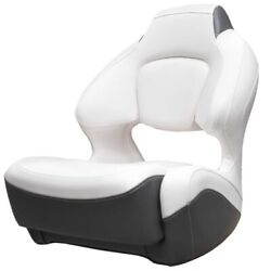 Chaparral Boat Captains Helm Seat 31.00509   Bolster White Graphite