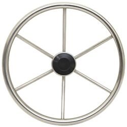 Boat Destroyer Steering Wheel 1425   14 Inch Stainless Polished