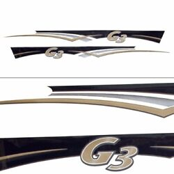 G3 Boat Decal 73404726 / 73404722 | 105 X 8 Inch Set Of 2