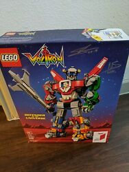 Sdcc Rare Lego Voltron Defender Of The Universe 21311 - Ideas Signed Retired