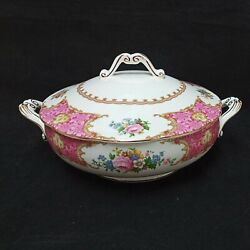 ❤ Royal Albert Lady Carlyle Covered Vegetable Bowl