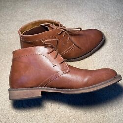 Chukka Boots Mens Brown Size 8 Med Sonoma Goods For Life Mid Cushioned Footbed
