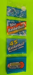 1992 Topps Basketball Sealed Rack Gold Shaquille Oandrsquoneal Rc On Back Pippen Front