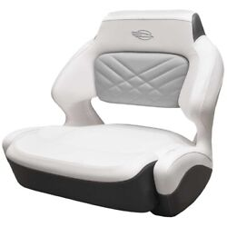 Chaparral Boat Helm Seat 31.00880   White Slate 307 Ssx Wide Bolster