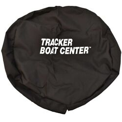 Carver Covers Boat Spare Tire Cover Tc15sp-02 | Tracker 15 Inch Black