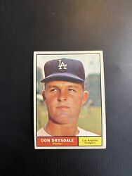 1961 Topps Don Drysdale 260 Ex-mt Ercollectibles