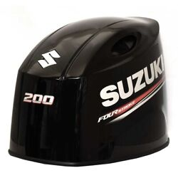Suzuki Boat Engine Cowling Cover 61420-96870-yay   200 Hp Crack