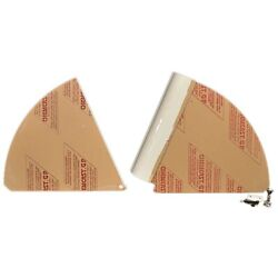 Scout Boat Hatch Door Entry 191387-401323 | 245 Abaco White 2 Pc Kit