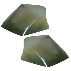 Galaxie Boat Windshields | 172 Green Tinted 29 Inch Set Of 2