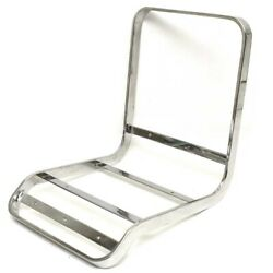 Boat Seat Frame   Bar Stool 14 X 16 5/8 Inch Stainless Polished