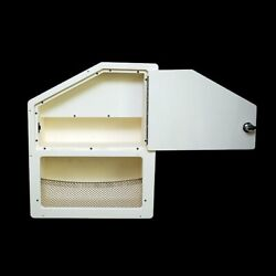 Scout 191387-20-8167 Off White Starboard Boat Cabinet Storage Hatch / Box