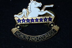 Vietnam War Us 8th Cavalry Regiment Di Dui Crest Honor And Courage Comanche Fall
