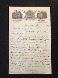 Antique 1905 Albany New York The New Kenmore Letter With Graphic Letter Head