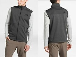 Nwt 80 Menand039s The Apex Canyonwall Windwall Grey Vest Top Size M L New