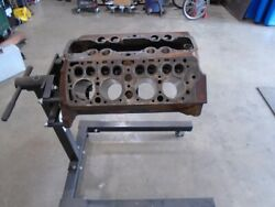 Flathead Ford 8ba Engine Complete Except Crank Magnafluxed Pressure Tested Good