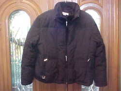 Larry Levine Womanand039s Duck Feather Down Coat Jacket Black Size Xl