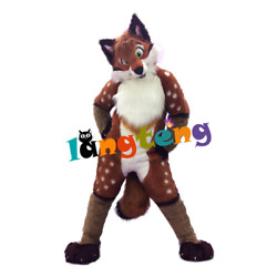 Dog Fox Wolf Mascot High Quality Handmade Costume Set Cosplay Party Ad 2021