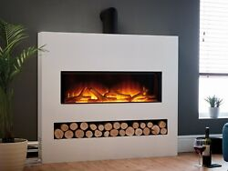 Modern Electric Fireplace Suite Flamerite Fire Gotham 900 Free Standing Radia