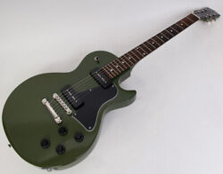 Cool Z Zlj-rv Retro Olive Green Made In Japan Lp Type Electric Guitar A1579