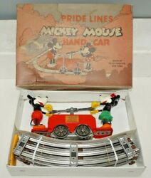 Pride Lines O-gauge Mickey Mouse 1100 Handcar In The Box