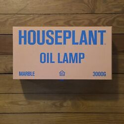 Seth Rogan X Houseplant Oil Lamp Table Lighter New Sold Out Marble 420 Weed Nib