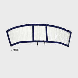Chaparral Boat Connector Curtain 10.03464   307 Ssx Blue 116728522