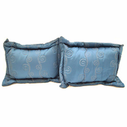 Chaparral Boat Pillow Set 224121 | Blue / Gold Marine Fabric Pair