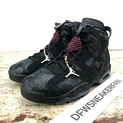 Nike Air Jordan 6 Retro And039singles Dayand039 Womenandrsquos 8.5 Sneakers Db9818-001 New