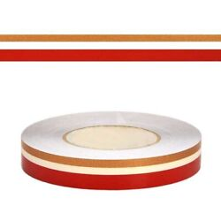 Larson Boat Pinstripe Decal 05726541 | 1 Inch Red Clear Gold 150ft