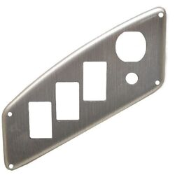 Larson Boat Blank Switch Panel | Brushed Gray 7 X 3 Inch Ignition