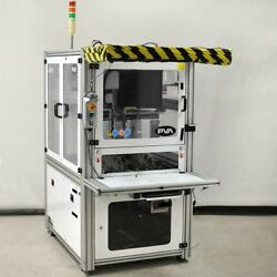 Precision 3-axis Robot Cell 56x50x10cm Travel Cnc Screw Work Cell Pva Thk As/is