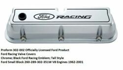 Ford Performance Tall Aluminum Ford Racing Valve Covers 289-302-351w 302-002