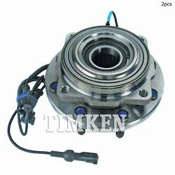 For Ford F-350 Super Duty Rear Set Of 2 Differential Bearing Set Timken Sp940204