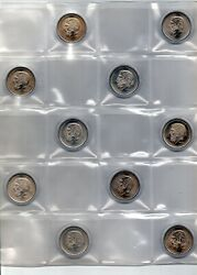 Greece 1984 Lot Of 10 Coins X 50 Drachme Are From Roll Of Bank Of Greece -
