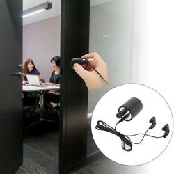 Professional Contact Microphone Spy Audio Ear Listening Through Wall Device Usa