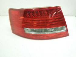 Audi A6 C6 Saloon Ns Left Rear Led Tail Light Cluster New 446-1903l