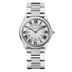 Menand039s W6701005 Rondo Solo Stainless Steel Watch