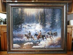 Winter Quest By Martin Grelle - Limited Edition Print On Canvas